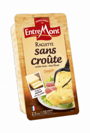 Entremont Rindless raclette cheese