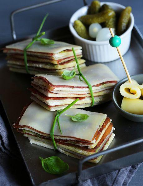 Bünderfleisch & Entremont Comté cheese slice