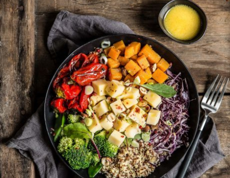 Nourish Bowl Emmental cheese Entremont